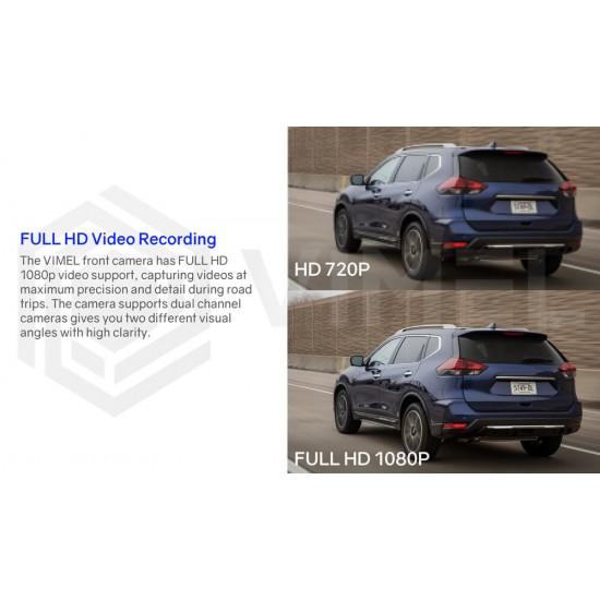 4G Security Parking Dual Dash Hidden Camera
