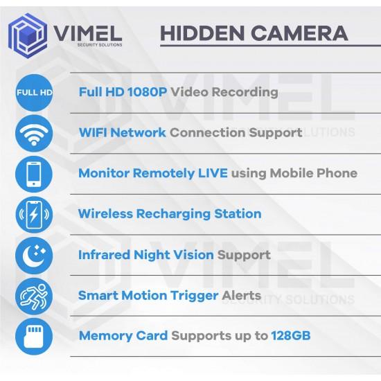 24/7 Wireless Docking Station Hidden Camera