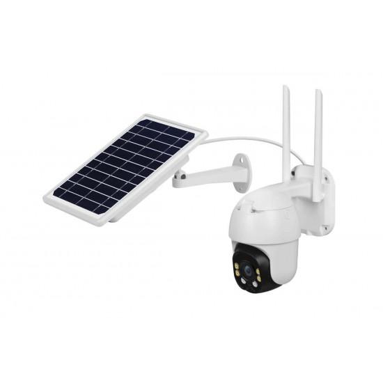 Solar Powered WIFI Flood Light Security Camera