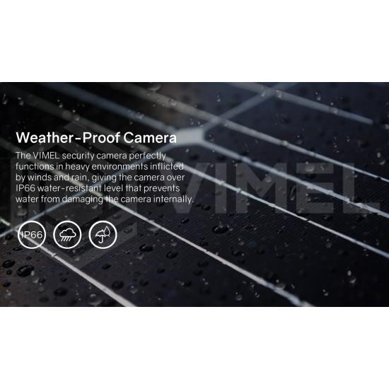 WIFI Security Solar Powered Camera PTZ