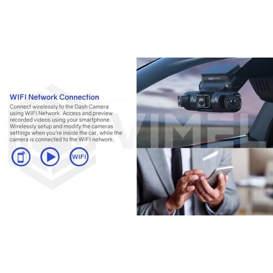 WIFI Triple Channel Uber Dashcam