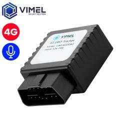 4G Remote Listening OBD2 GPS Tracker
