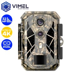 Dual Trail Camera Ultra HD 4K 32MP