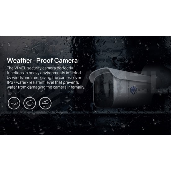 VIMEL Home Security NVR Camera System 2K