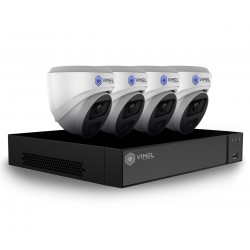 VIMEL Professional 5MP 2K POE NVR Home Camera System
