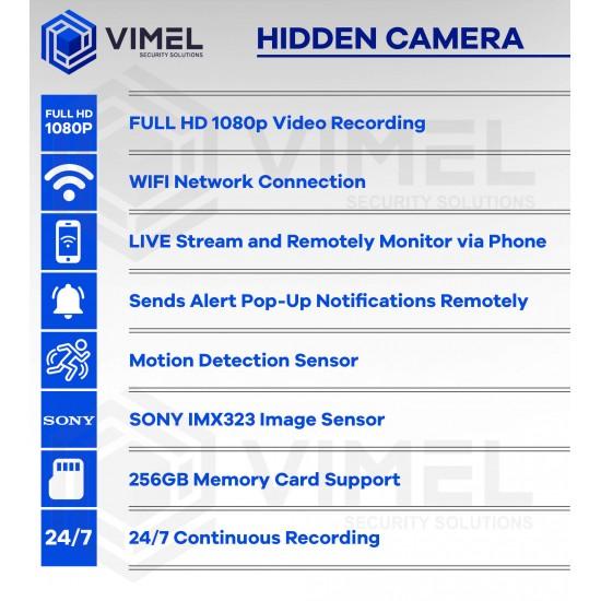 Long Lasting Battery Spy DIY WIFI Camera