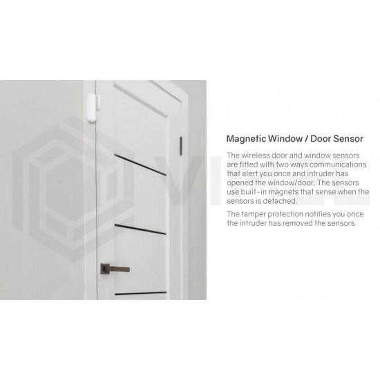 Wireless IP Alarm Window and Door Sensor