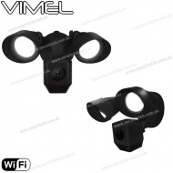 Flood Light Smart Security Camera IP Wireless Remore View