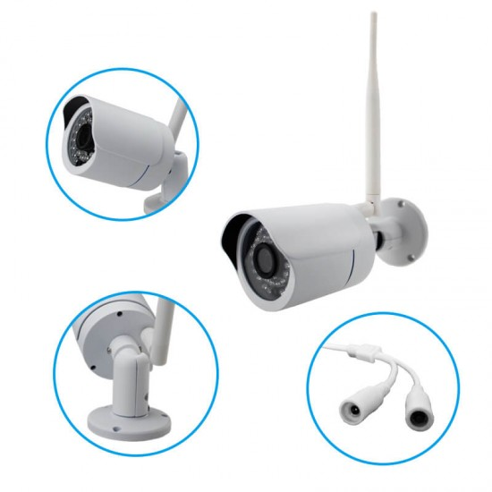 Wireless Home Security System Live View