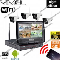 IP Security Cameras System Wireless Motion Detection