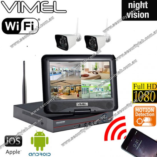 WIFI Cameras Security System IP Motion Detection Night Vision