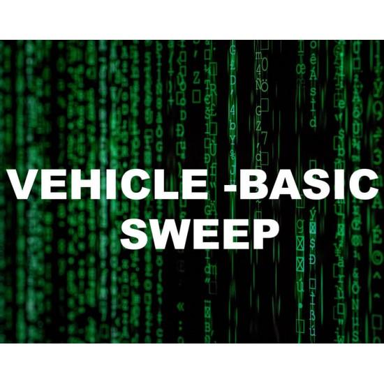 Vehicle Sweep Basic Package