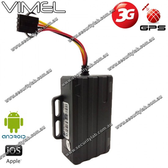 3G GPS Tracker for Car Hardwired 24/7 Monitoring Free Subscription