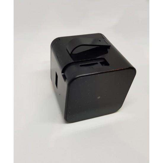 Spy IP Camera Live Stream Power Adapter Plug Motion Activated