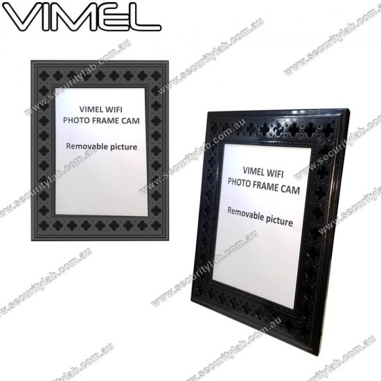 Spy IP Camera Photo Frame WIFI Motion activated