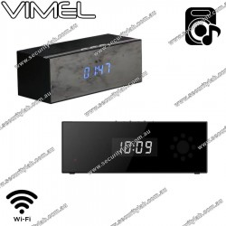 Spy Camera Bluetooth Speaker Motion Activated Night Vision