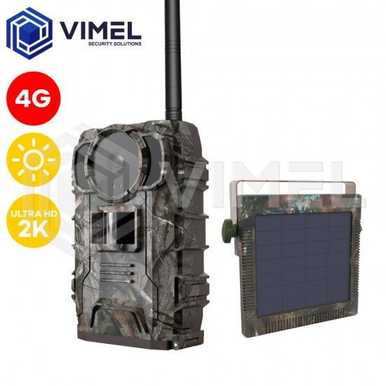 4G Trail Hunting Camera Owlzer Solar Australia