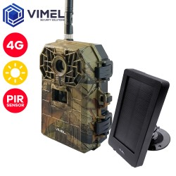 4G Trail Camera Wireless Solar Security Camera Remote Live View MMS 3G
