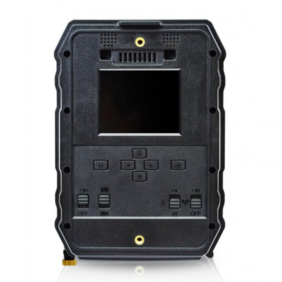 Trail Camera Motion Activated Night Vision Black Flash