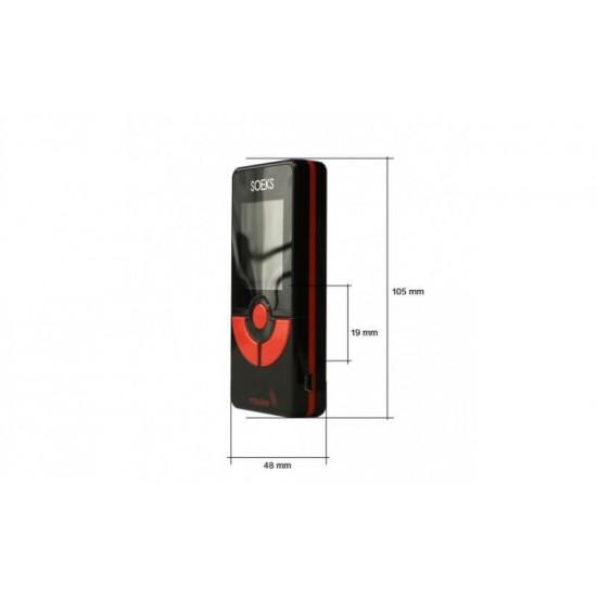 Soeks Impulse electromagnetic field detector meter EMF