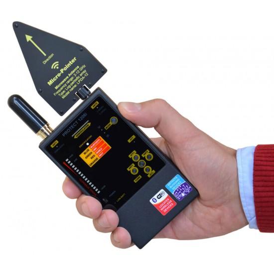 Protect 1206i Hidden Cameras Detector Listening bugs finder